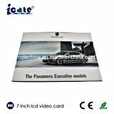 precio de fábrica de pantallas LCD Video Saludo Booklet-Video Card-Video Folleto