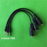 "Trs 1/8"" de 3,5 mm DIN 5 pines MIDI Cable macho"