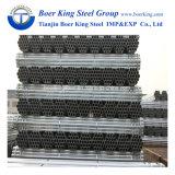 Trattamento di superficie galvanizzato del TUFFO galvanizzato o caldo dell'elettrotipia del tubo del nero del tubo d'acciaio dell'armatura di prezzi speciali