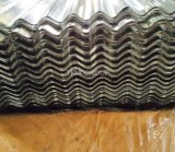 Material para techos acanalado del metal de la ondulación de la hoja de acero del Galvalume ligero de Aluzinc