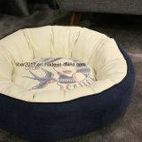 犬の製品の小さいペット円形のベッドのネストペットソファーベッド犬のケージ