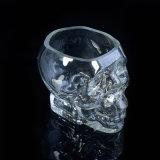 Supporti di candela di vetro a forma di del cranio unico