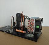 小型エアコンの除湿器の自動販売機の氷メーカーの冷水装置220V/50Hz 110V/60Hz 220V/60HzのためのPurswave 1/4HPのAir-Cooled圧縮機の凝縮の単位