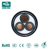 Single Core Cu/XLPE/PVC/Awa /PVC blindés Câble d'alimentation moyenne tension 3.6/6.0kv