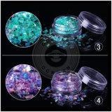 Galaxy glitter ongle paillette Bricolage Décoration flocons irréguliers de poussière