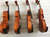 바이올린 세트를 가진 합판 악기 바이올린
