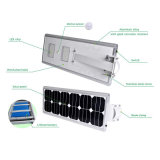60W 태양 에너지 RoHS TUV 증명서를 가진 통합 태양 가로등