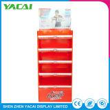 Tiendas de especialidades papel Piso Stand Expositor Rack