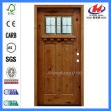 Porte en bois découpée par poussée d'environnement (JHK-G32-4)