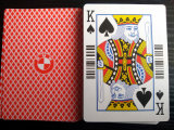 Casino Black Core Poker Playing Cards with Barcode
