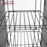 Snack Rack con pantalla de metal color nombrado