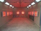 Cabine Wld6000 da pintura de pulverizador da lâmpada infravermelha