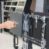 Vordere Pflege-Innenmiete LED-Bildschirm 500*500mm/500*1000mm P3.91 P4.81