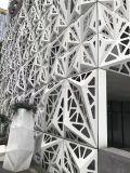 3D Artistieke CNC van het Aluminium Besnoeiing Geperforeerde Decoratie van de Muur van het Comité Buiten