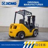 Venda a quente XCMG Isuzu 2.5Ton Veículo Diesel com 3 estágios mastro 4,5 m