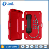 Téléphone résistant aux intempéries IP67, Tunnel Sos téléphone, téléphone d'urgence industrielle