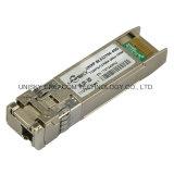 10GB/s 60km Bidi Transceptor óptico SFP+ com Ddmi