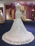 Nixe-Spitze-Brauthochzeits-Kleid