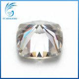 6X6mm는 1.0 캐럿 화려한 방석 판매를 위한 Moissanite 다이아몬드를 풀었다