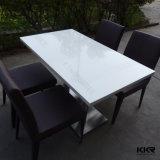 Mesa de centro de superfície contínua do mármore moderno da mobília com cadeira