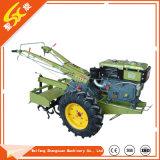 15HP curta o trator com o timão rotativa para as pequenas explorações agrícolas de campo