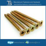 Parafusos 5X30mm Pozi unidade Csk Cabeça de aglomerado de madeira