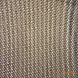 Pantalla de acoplamiento tejida cuadrado galvanizada de alambre