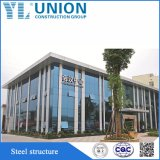 зодчество стальной структуры окружающей среды содружественное Prefab с конструкцией стальной рамки