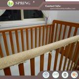 Il cotone della greppia del bambino ha imbottito la fodera per materassi/Encasement del materasso/coperchio Hypoallergenic della greppia
