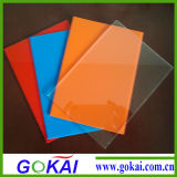 Hohes transparentes 3-5mm helles doppeltes mit Seiten versehenes Acrylspiegel-Blatt