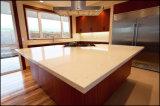 人工的な純粋で白い水晶平板のカウンタートップの価格のための白い輝きの水晶