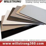 Panneau composite aluminium pour la décoration extérieure