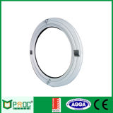 Finestra rotonda di vetro di alluminio rivestita della polvere