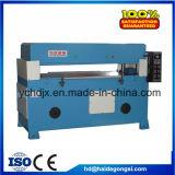 Sapatas hidráulicas automáticas do PVC do couro que cortam a máquina da imprensa