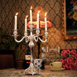Table를 위한 결혼식 Road Lead Weddings Glass Vase Candleholder Centerpiece Event Party Decoration