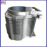알루미늄 열 싱크는 주물 부속 기계로 가공을 정지한다