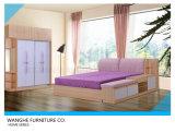 침실 가구 세트를 위한 저장 서랍을%s 가진 현대 작풍 침대