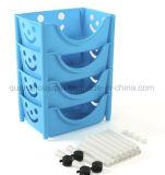 OEM amovible en plastique Cuisine Salle de bains étagères de stockage rack