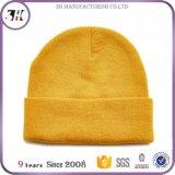 Diseño barato su propio sombrero de la gorrita tejida de la insignia