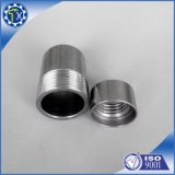 Personnalisé ajustage de précision en aluminium enduit d'embout de zinc galvanisé et bleu