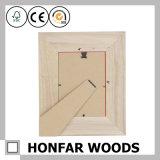 Frame branco da foto do retrato da madeira contínua da cor para o presente
