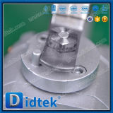 Didtek a modifié le robinet à tournant sphérique de flottement de l'acier inoxydable A105