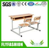 El doble de la escuela escritorio y silla (SF-09D)