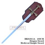 Espadas medievais da decoração das espadas de Swods da película 103cm HK81011A