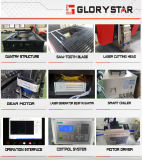 Machine de découpage de laser de fibre en métal de commande numérique par ordinateur pour l'acier inoxydable