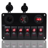 6 Gang Waterproof Switch Panel