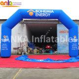 Da cor angular ao ar livre da planície do projeto do arco do fornecedor de Guangzhou arco inflável da porta para a atividade