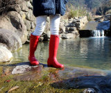 女性のゴム製雨靴は、ゴム長、女性雨靴を作る
