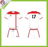 Futebol feito sob encomenda Jersey da camisa do futebol do Sportswear do Sublimation do serviço do OEM de Deramfox