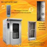 Venda a quente 12 eléctricos profissionais da bandeja de forno de convecção com carrinho